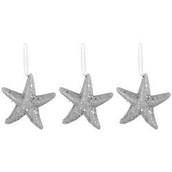 Brighten the Season 3-pc. Starfish Ornament Set