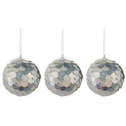 3-pc. Sequin Scale Ornament Ball Set