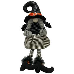 Halloween Witch Gnome Figurine