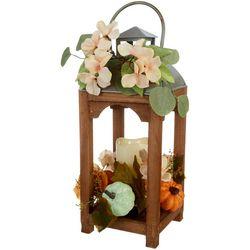 Pumpkin Hydrangea Lantern