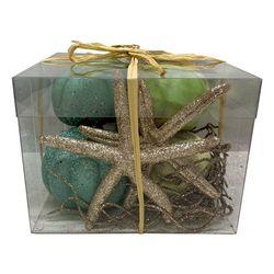Brighten the Season Pumpkin & Starfish Decorative Box Set
