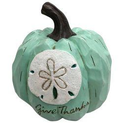 Brighten the Season Give Thanks Sand Dollar Pumpkin