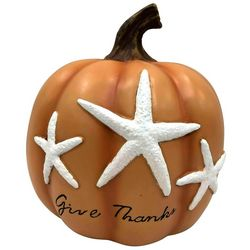 Brighten the Season Give Thanks Starfish Pumpkin Decor