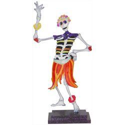 Brighten the Season Hula Skeleton Figurine