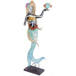 Brighten the Season Mermaid Skeleton Figurine