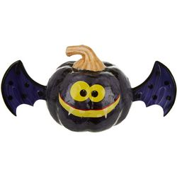 Brighten the Season Capiz Bat Pumpkin Decor