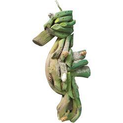 Brighten the Season Driftwood Seahorse Ornament