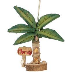 Brighten the Season Driftwood Tree & Florida Sign Ornament