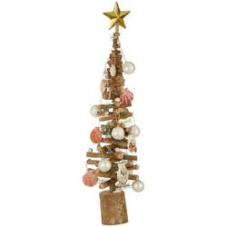 Brighten the Season Twig & Shell Tree Decor