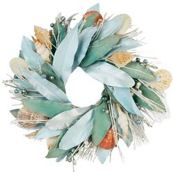 Mango Shell Wreath