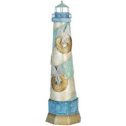 Capiz Lighthouse & Wreath Decor