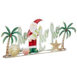 Ho Ho Ho Santa Palm Tabletop Decor