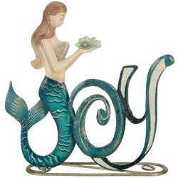 Mermaid Capiz Tabletop Decor