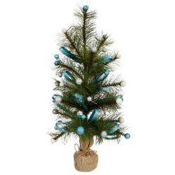 Glitter Ornament & Needle Tree Decor