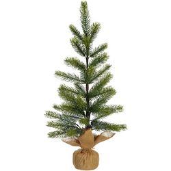 Brighten the Season Tree & Burlap Base Decor