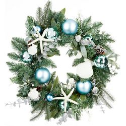 Seashell & Starfish Wreath