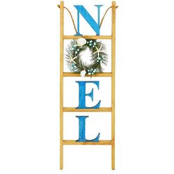Brighten the Season Noel Wreath Ladder Decor
