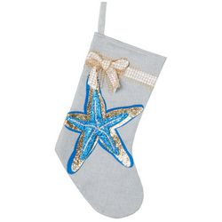 Starfish Sequin Stocking