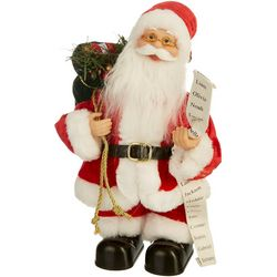 Brighten the Season 12'' Dancing Santa Music Figurine