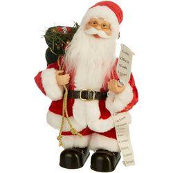 12'' Dancing Santa Music Figurine