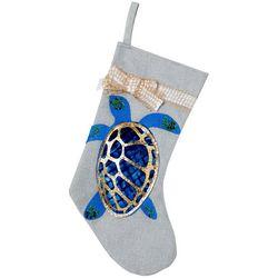 Sea Turtle Glitter Stocking