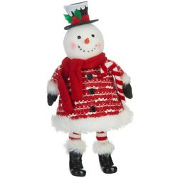 Brighten the Season Bobble Snowman Figurine