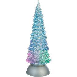 LED Christmas Tree Glitter Figurine
