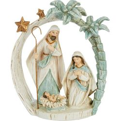 Brighten the Season Holy Family Palm Tree Figurine