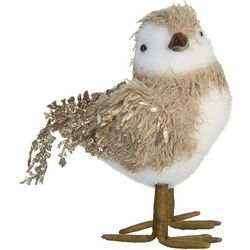 Brighten the Season Sisal Coastal Bird Ornament