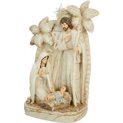 Brighten the Season Holy Family Palm Tree Tabletop Figurine