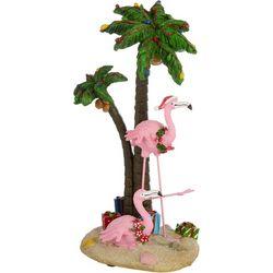 Flamingo Palm Trees Ornament