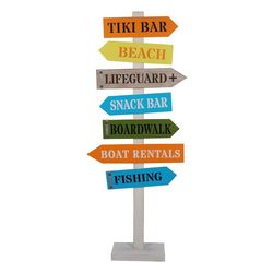 Brighten the Season Beach Arrow Signs Decor