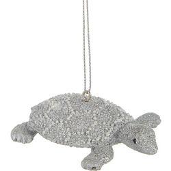 Silver Turtle Ornament
