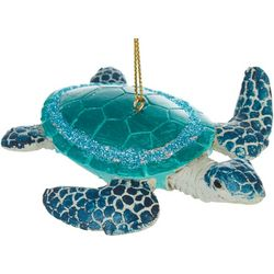 Sea Turtle Glossy Shell Ornament