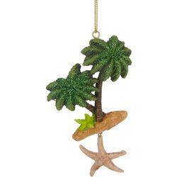 Brighten the Season Palm Tree & Starfish Ornament