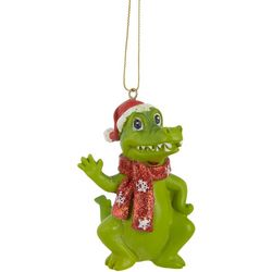 Gator Scarf & Hat Ornament