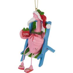 Brighten the Season 2020 Flamingo & Chair Ornament