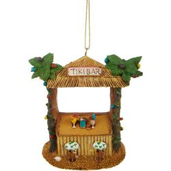 Tiki Bar & Palm Trees Ornament
