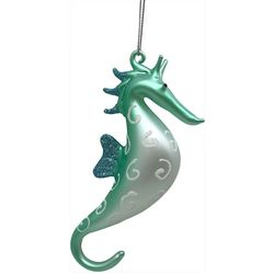 Brighten the Season Seahorse & Glitter Shell Ornament