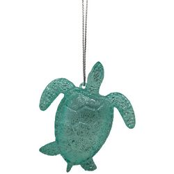 Brighten the Season Glitter Speck Sea Turtle Ornament