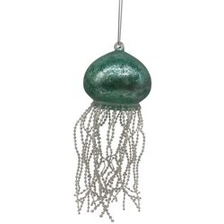 Brighten the Season Jellyfish & Beaded Tentacles Ornament