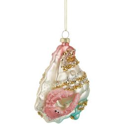 Brighten the Season Hermit Crab Glitter & Bead Ornament