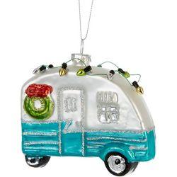 Brighten the Season Camper & String Lights Ornament