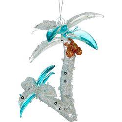 Palm Tree Sequin Ornament