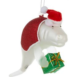 Brighten the Season Manatee & Gift Ornament