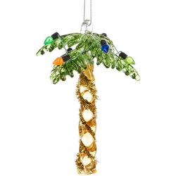 Palm Tree & Tinsel Trunk Ornament
