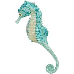 Brighten the Season Glitter Sequin Seahorse Ornament