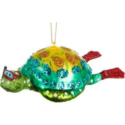 Brighten the Season Diving Sea Turtle Ornament
