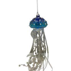 Brighten the Season Jellyfish & Pearls Ornament
