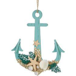 Anchor & Shell Ornament